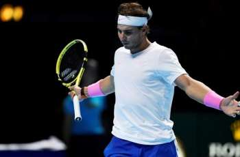 Russian Tennis Player Medvedev Loses to Spain's Nadal at ATP Finals