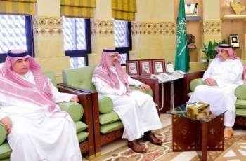 وكيل إمارة منطقة الرياض يستقبل مدير معهد الإدارة العامة