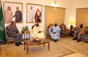 سفير خادم الحرمين الشريفين لدى نيجيريا يلتقي برئيس الهيئة النيجيرية لتشجيع الاستثمار