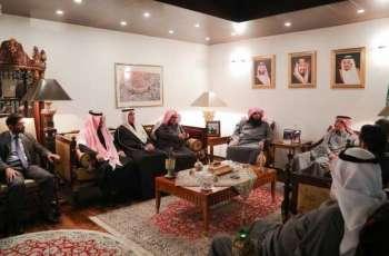 سفير خادم الحرمين الشريفين بالبوسنة والهرسك يحتفي بـوكيل وزارة الشؤون الإسلامية