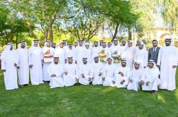 Mansour bin Zayed honours winners of Dalma Dhow Sailing Race