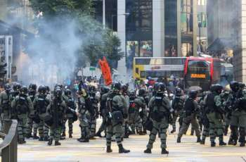 Hong Kong Police Fire Tear Gas at Protesters Near Polytechnic University - Reports