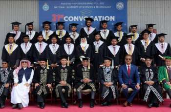 31St Convocation Of Pakistan Navy Engineering College Held At Karachi, 354 Students Awarded Degrees