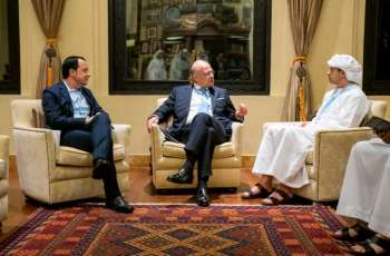 UAE hosts first tripartite meeting with Cyprus and Greece