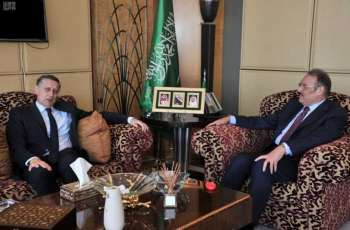 السفير نقلي يلتقي السفير الألماني بالقاهرة
