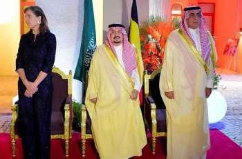 أمير منطقة الرياض يشرف حفل سفارة مملكة بلجيكا
