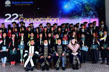 Bahria University Islamabad Campus holds 22nd Convocation