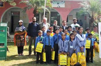 PTCL & WWF-Pakistan conduct Spellathon in less-privileged schools of Haripur District