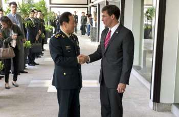 US, Chinese Defense Ministers Discuss Cooperation, Non-Aggression - Pentagon