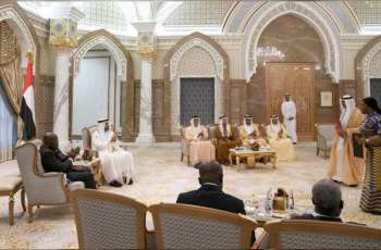 Mohamed bin Zayed, President of Ghana attend signing of bilateral agreements, MoUs