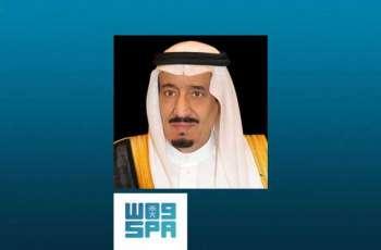 خادم الحرمين الشريفين يعزي نائب رئيس دولة الإمارات العربية المتحدة رئيس مجلس الوزراء حاكم دبي في وفاة الشيخ سلطان بن زايد آل نهيان