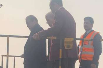 Nawaz Sharif departs for London in air-ambulance from Lahore