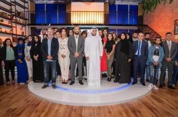 راشد الشرقي يفتتح الاستديوهات الجديدة لإذاعة وتلفزيون الفجيرة