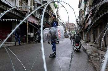 Military lockdown, communications clampdown enters 107th day in IoK