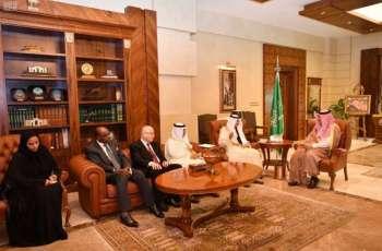 سمو محافظ جدة يستقبل الأمين العام لمنظمة التعاون الاسلامي