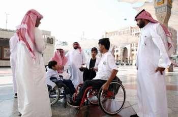 وكالة شؤون المسجد النبوي تنظم زيارة لوفد من جمعية الأشخاص ذوي الإعاقة بالأحساء