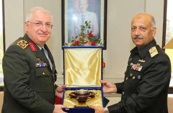 Commander Turkish Armed Forces Visits Naval Headquarters