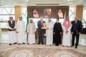 مدير جامعة الباحة يستقبل القنصل البريطاني لدى المملكة