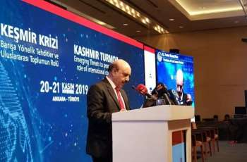 Turkey strongly advocated resolution of Kashmir dispute'