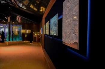 سمو وزير الثقافة يفتتح المعرض الثقافي السعودي في