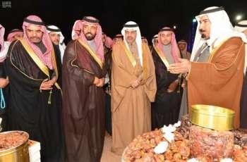 وكيل إمارة منطقة حائل يدشن فعاليات جمعية الأسر المنتجة