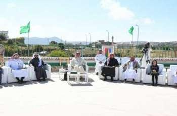 سمو أمير منطقة عسير يكرم عدداً من النماذج الوطنية الناجحة في احتفالية