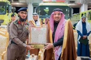 سمو أمير منطقة القصيم يدشن مبنى الدفاع المدني الجديد بمحافظة رياض الخبراء