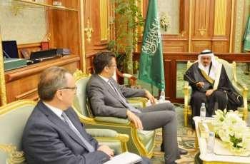 نائب رئيس مجلس الشورى يستقبل سفيري قبرص ومندوبية الاتحاد الأوربي