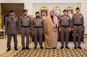سمو أمير القصيم يقلد عدداً من الضباط رتبهم الجديدة