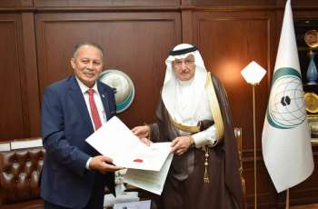 OIC Secretary General receives credentials of Malaysia Permanent Representative to OIC