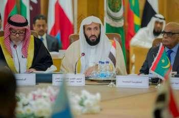 وزير العدل يؤكد أهمية تضافر الجهود العربية والدولية لمواجهة الإرهاب وتجفيف منابعه