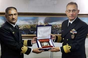 Pakistan Navy Ship Alamgir Participates In Multinational Maritime Exercise Dogu Akdeniz In Mediterranean Sea