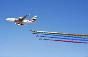 Sales of $54.5 billion made at Dubai Airshow 2019