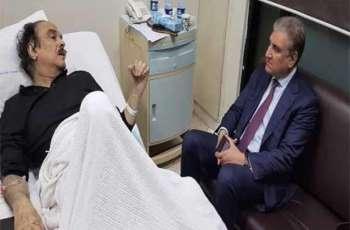 نقل مساعد خاص لرئیس الوزراء نعیم الحق الي المستشفي اثر وعکة صحیة