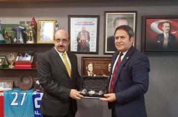 AJK President lauds Turkish Parliament, international students for their support to the Kashmir cause, and call for the end to Indian tyranny