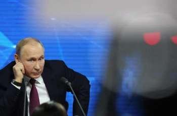 Russian President Vladimir Putin to Hold Big Press Conference December 19 - Kremlin