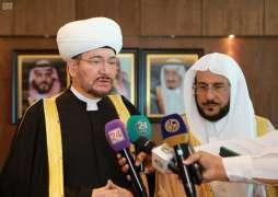وزير الشؤون الإسلامية : توقيع الاتفاقية مع مجلس شورى المفتين بروسيا تتويج لجهود المملكة في خدمة الإسلام والمسلمين