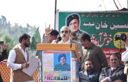 AJK President pays homage to Captain Hussain Khan Shaheed