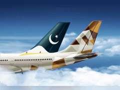 شراكة بالرمز بين الاتحاد للطيران والخطوط الباكستانية