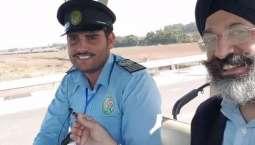 Ahad Raza Mir thanks viral Kartarpur driver for being 'good ambassador of Pakistan'