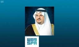 سمو نائب أمير الرياض يعزي في وفاة سمو الأمير تركي بن عبدالله بن سعود