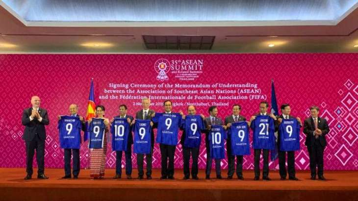FIFA, ASEAN Sign Memorandum of Understanding on Developing Football in Asia-Pacific