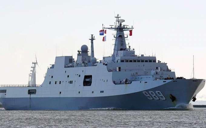 Myanmar's Navy Landing Platform Dock Finishes Historic Visit to Russia's Vladivostok
