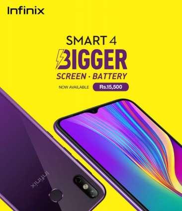 Bigger just got better, Infinix Smart 4 now available in Pakistan