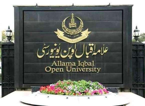Allama Iqbal Open University (AIOU) evolves plan for teachers' role in social reconstruction
