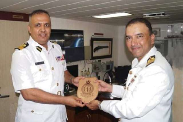 Pakistan Navy Ships Shamsheer & Muhafiz Participate In International Maritime Exercise (IMX 2019)
