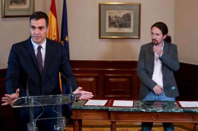 Spain's Socialists, Podemos Sign Preliminary Coalition Agreement