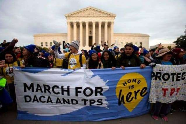 Hundreds of Protesters Rally Outside US Supreme Court Tuesday Prior to DACA Hearings