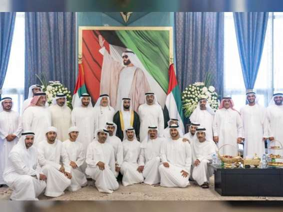 Mohamed bin Zayed attends wedding