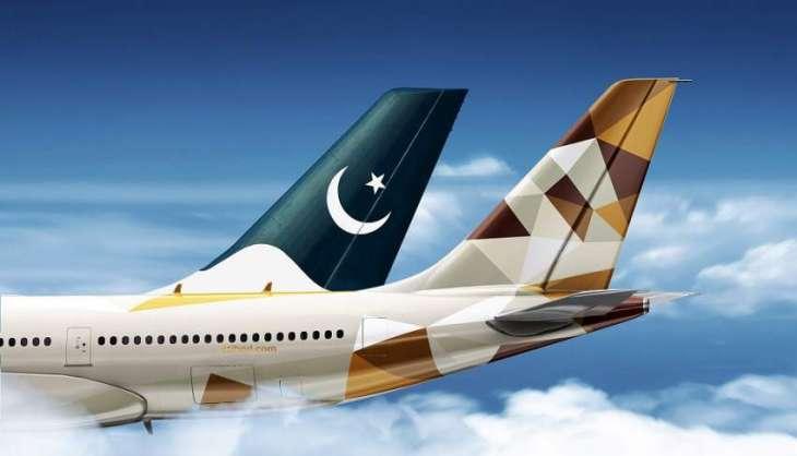 Etihad Airways, Pakistan's PIA relaunch codeshare partnership